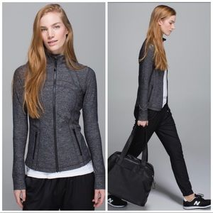 Lululemon Herringbone Defined Jacket Gray